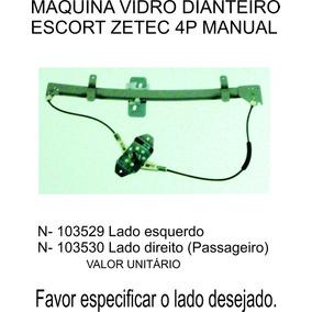 Maquina De Vidro Dianteira Escort Zetec 4 Portas