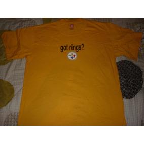 E Remera De Pittsburgh Steelers Licensia Oficial Nfl