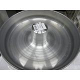Kit Com 05 Formas De Bolo E Pudim Alumínio Gigante Cone