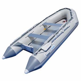 Lancha Inflable Pesca Raft Piso Rigido Aluminio Y Pvc 14.1