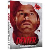 Dexter 5ª Temporada Completa Box 4 Dvd Original Novo Lacrado