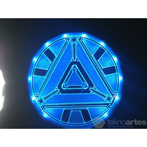 Insignia Luminosa Arc Reactor De Iron Man - Iluminado A Led