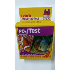 Sera Teste Fosfato Po4 P/aquários Marinho Ou Docê