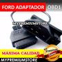 Adaptador Ford Obd1 A 16 Pin Obd2 Para Escaner Automotriz