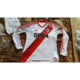 Jersey River Plate Manga Larga Desde Argentina