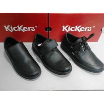 Zapatos Kickers Colegial, Casual.