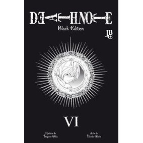 Mangá Death Note Black Edition Vol.1,2,3,4,5 E 6 Jbc Cada