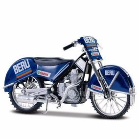 Miniatura Moto Maisto Eis Ice Speedway Siwa 500 1:18