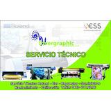 Servicio Técnico-plotters Impresión Y Corte Roland,kjet,ejet