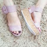 Sapatos Femininos Sandálias Moda Urbana Mini Tratorado