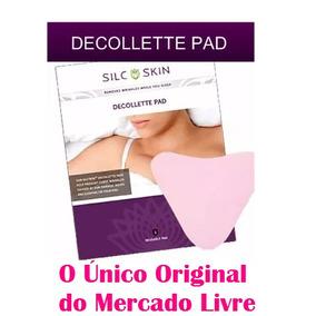 Decollette Pads Silcskin Dermacosmétic Antirrugas Originais