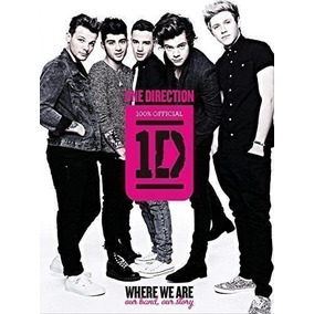 Livro One Direction: Where We Are One Direction