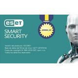 Eset Smart Security 11 - 3 Computadoras 1 Año Ud. Lo Activa