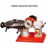 Máquina De Carpintería Sierra Angular Giratoria