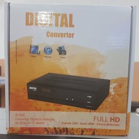 Conversor Digital Full Hd Fta Isdb-t A-002