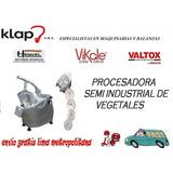 Procesadora De Vegetales Y Alimentos Marca Henkel Nueva