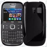 Funda Protector Gel Case Para Nokia Asha 302 Tpu