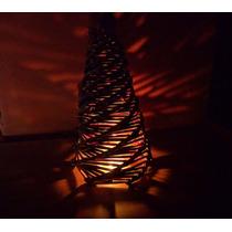 Arbolito De Navidad Artesanal 25 Cm De Alto