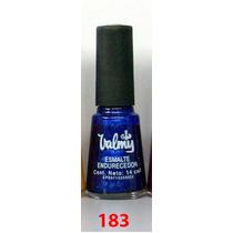 Pintura De Uñas, Esmalte Valmy 183 Azul Rey Metalizado