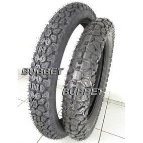 Par Pneus Pirelli Mt40 Originais Nx 150 200 4.10-18 + 275-21