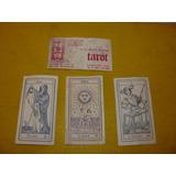 Tarjeta Invitacion Tarot X 4 Cartas Tarot Colección Dec 70