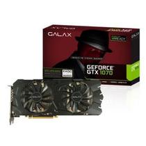 Placa De Video Geforce Gtx1070 Exoc 8g Ddr5 256bit 3d Nf D
