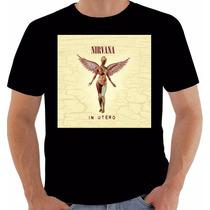 Camiseta Original Disco Nirvana In Utero 1993