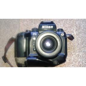 Máquina Nikon F4 C/35-70mm Para Colecionador