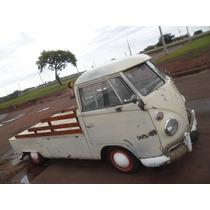 Vw Van Kombi 74 Pick Up Corujinha Rodando E Documento Em Dia
