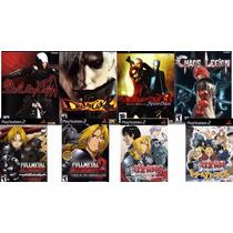 Devil May Cry 1, 2 E 3 + Chaos Legion + Fullmetal (8 Jg Ps2