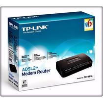Modem Router Tp-link Adsl2+ Td-8816 Via Cabo