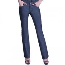 Calça Jeans Feminina Ana Hickmann Flare Boot Cut Mid 21085