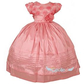 Hermos Vestido De Fiestas Niña Exclusivo Alta Calidad 16-87