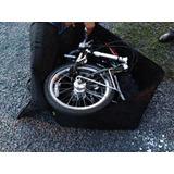 Maleta Funda Porta Bicicleta R20 Plegable Mochila De Viaje