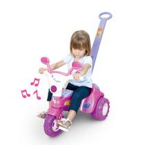 Triciclo Motoca Menina Baby Music 1802 - Cotiplás