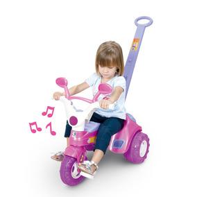 Triciclo Velotrol Baby Music Com Som - Cotiplás