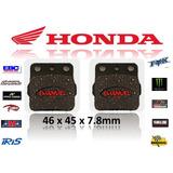 Pastillas De Freno Del/tras Honda Trx 400 Ex Fourtrax/sport
