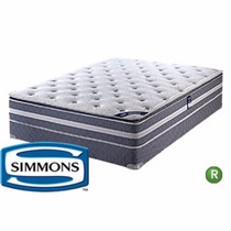 Colchón Y Sommier Simmons Beautyrest Pillow 160 X1.90 Promo