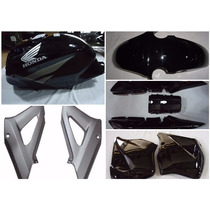 Kit Twister Preto 07 E 08 Carenagem + Tanque + Brinde