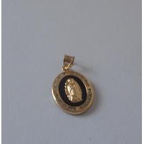 Dije Virgen De Guadalupe Con Zirconias Oro 10k