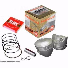 Pistão Competição Crf 230 Taxado Com Anéis Rik 67mm 1.50mm