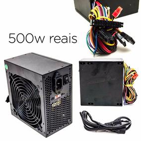 Fonte Atx 500w Com Conexão Sata - Kp-522