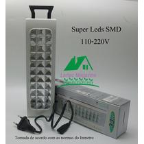 Kit Com 02 Peças Luz De Emergência 33 Leds-bivolt