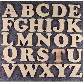 Letras Fibrofacil Ideal Souvenirs 2cm Altura Precio Por Unid