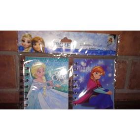 Libretas Pocket 2 Disney Frozen! Recuerdo, Fiesta, Cotillon