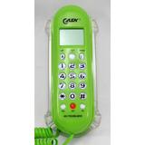 Aparelho De Telefone Verde Tela Lcd Kx-t0106 Interfone