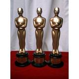 Personaliza Premio Oscar Trofeo Estatuilla Original Hollywoo