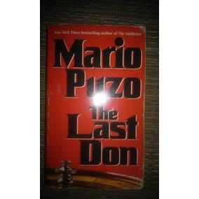 Espectacular Libro The Last Don De Mario Puzo En Ingles!!!!!