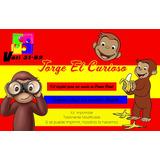 Kit Imprimible Jorge El Curioso,invitacion,fiesta,tarjeta