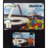 Postal 3d Brasília Copa Fifa 2014 Oficial +(card Cam X Bra)
